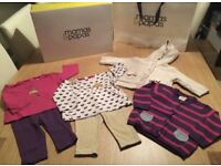 Mamas & Papas 3-6 month clothes bundle with gift box & bag