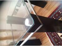 Glass table excellent condition QUICK sale £50