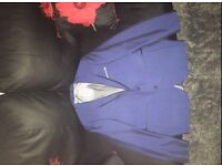 Men's three piece slim fit suit (blue)