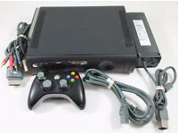 Xbox 360 Elite Console 120GB with wireless controller and PSU and games