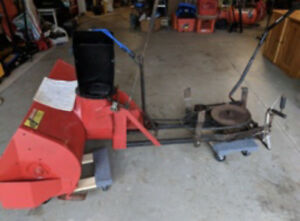 Universal Snowblower attachment for ride on mower