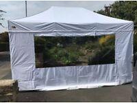 Gala Tent Gazebo Pro 40 4.5x3m by Gala Tent with full set of side walls