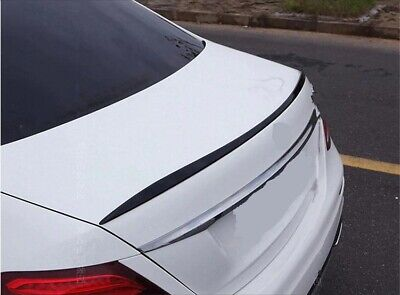 Für Mercedes E klasse W213 limo Spoiler Heckspoiler lippe GLANZ Schwarz lackiert