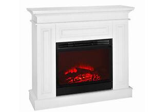 elektrokamin weiss kamine ebay. Black Bedroom Furniture Sets. Home Design Ideas
