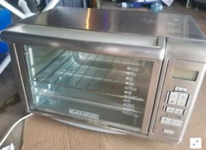 Toaster Oven - Black and Decker Digital Infared