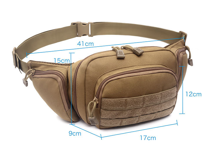 Tactical Concealed Carry Pistol Pouch Ultimate Fanny Pack Holster Waist Bag US Bags