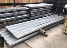 >>> VARIOUS SIZES box profile galvanised roof sheets