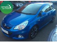 £181.77 PER MONTH BLUE 2011 VAUXHALL CORSA 1.6 VXR TURBO PETROL MANUAL