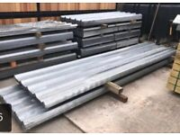 Roof sheets,..galvanised only £16 each