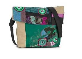 Desigual bag, new, green