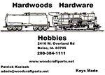 Hardwoods Hardware Hobbies