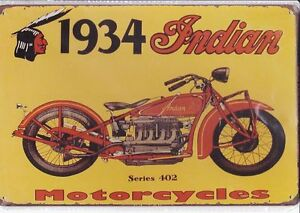 2 Signs Indian Motor Cycles + Route 66 $20.00 each. Kitchener / Waterloo Kitchener Area image 1