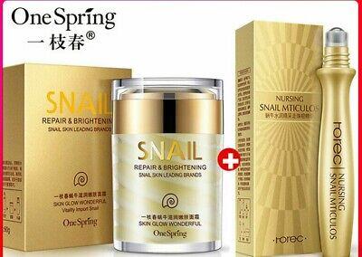 BEST EYE One Sping Snail Cream Eye Cream whitening Korean face care