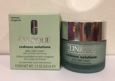 Redness Solutions Daily Relief Cream (Clinique Redness Solutions Daily Relief Cream With Probiotic Technology 1.7oz )