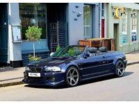BMW e46 M3 Convertible modified Show Car