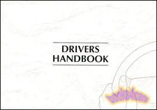 1999 JAGUAR XJ8 XJR OWNERS MANUAL HANDBOOK GUIDE BOOK 99