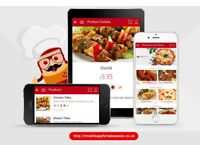 IPHONE ANDROID MOBILE APPS FOR TAKEAWAYS & RESTAURANTS, TAKEAWAY & RESTAURANT APP DEVELOPER DESIGNER