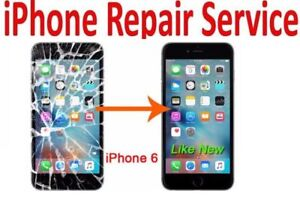 iPhone Screen/Glass/LCD Repair iPhone 6 -$50 With warranty