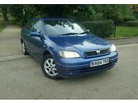 2004/54 VAUXHALL ASTRA 1.4 LOW GENUINE MILEAGE 78K FULL SERVICE HISTORY