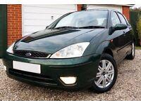 Cheap Ford Focus 1.8 Tdci Ghia 5 Door Long Mot 60Mpg Low Insurance Like corsa astra fiesta corolla