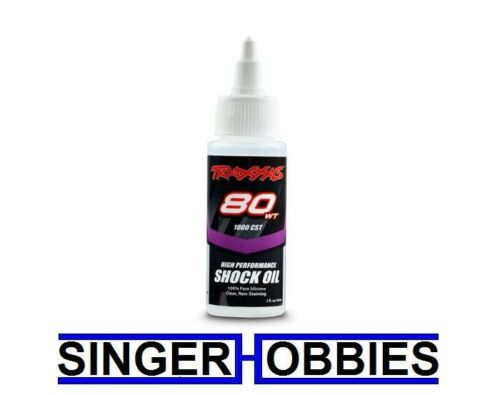 Traxxas 5037 Oil shock 80 weight, 1,000 cSt, 60cc Silicone NEW IN PACKAGE TRA1