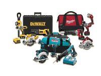 Cash for power tools makita dewalt bosch