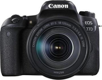Canon EOS 77D + EF-S 18-135mm 3.5-5.6 IS USM SLR camerakit 2