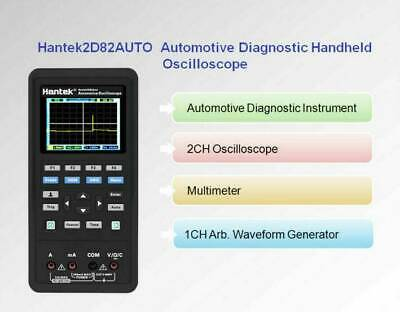Hantek 2d82auto 4in1 Oscilloscope Automotive Diagnosticdmmsignal Source Kit Ii