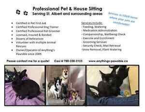Very Experienced Pet Sitter Available