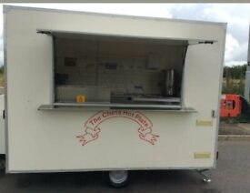 """Catering Trailer (10ft x 6ft,6"""") for sale - good condition - Edinburgh"""