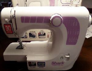 Shark euro pro sewing machine model 412 used3x foot for Euro pro craft n sew