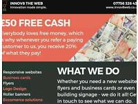 Websites, Flyers, Graphic Design