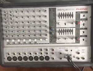 Phonic PowerPod 865 Plus Mixer