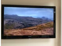"""46"""" inch Samsung widescreen ultra slim full HD Crystal LED TV television"""