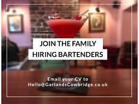 Bartenders Wanted - Immediate Start