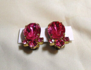 Vintage Clip on Earrings  - Price $10 each or 3 for $25.00