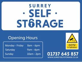 GREAT VALUE SELF STORAGE IN MERSTHAM. 50% OFF FOR 8 WEEKS.