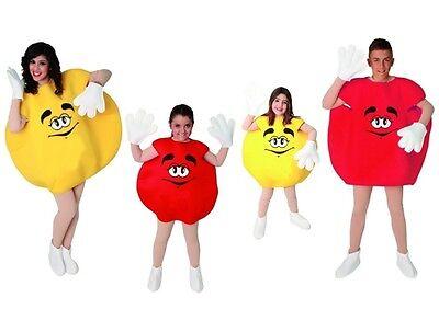 Kostüm Bonbon Schokolinsen Damen Herren Kinder Familie Karneval Bonbonkostüm