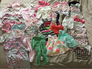 Girls 0-3month clothing lot - MUST GO!