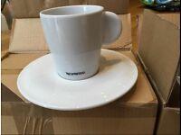 Unused set of nespresso cups in original box