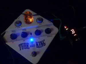 Ibanez Guitar Pedal Overdrive Tube King White Japan