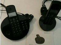 Cordless phones - set of 2