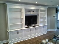 Custom Built Cabinetry.