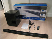 Soundbar et Subwoofer sans fil/wireless 2.1 Samsung HW-F550