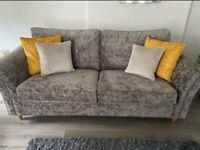 Next Grey 2 Seater Sofa Brand New