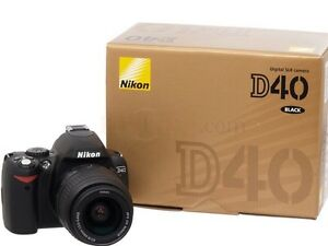 Nikon DSLR D40 - With Original Box + 2 Lenses