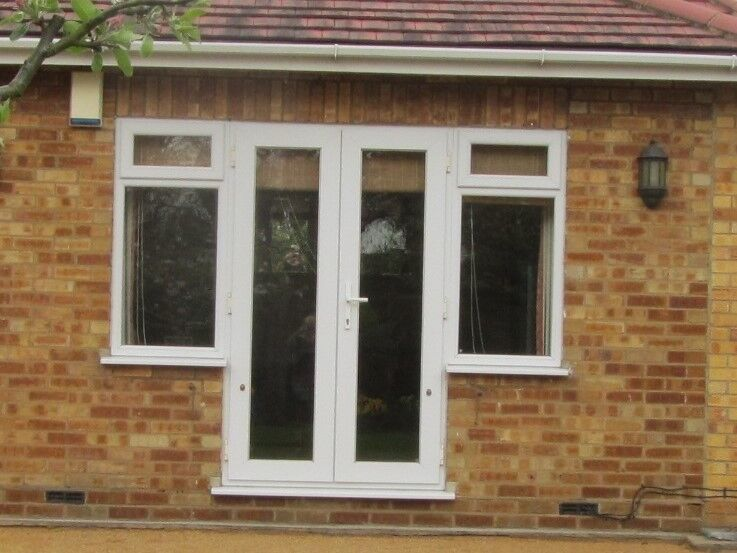 French Patio Doors With Side Windows In Nazeing Essex Gumtree