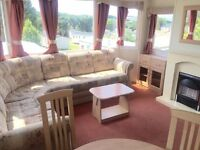 STATIC CARAVAN ISLE OF WIGHT FINANCE AVAIALBLE HALF PRICE 2017 SITE FEES NEAR THORNESS BAY
