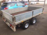 Ifor Williams 8x5 flatbed trailer
