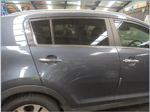 KIA SPORTAGE RIGHT REAR 1/4 DOOR GLASS SL, 07/10-05/13 (C19417) Lansvale Liverpool Area Preview